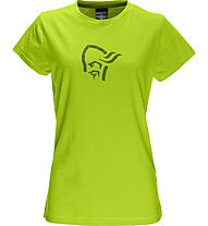 Norrona /29 cotton logo T-Shirt Damen, Birch Green