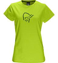 Norrona /29 cotton logo T-Shirt donna, Birch Green
