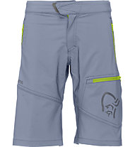 Norrona /29 flex1 - pantaloni corti trekking - bambino, Grey