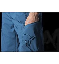 Norrona /29 flex1 - pantaloni corti trekking - uomo, Blue