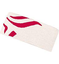 Norrona /29 Mega Logo - Stirnband Skitouren, White/Pink