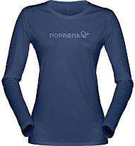 Norrona /29 Tech Long Sleeve - Langarmshirt Bergsport - Damen, Blue