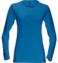Norrona /29 tech - langärmeliges Trekkingshirt - Damen, Blue