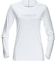 Norrona /29 tech - maglia a manica lunga trekking - donna, White