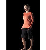 Norrona /29 tech - maglia a manica lunga trekking - donna, Orange