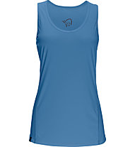 Norrona /29 tech Singlet - Top trekking - donna, Blue