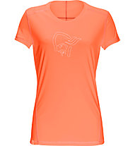 Norrona /29 tech - T-Shirt trekking - donna, Orange