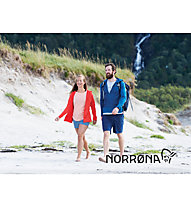 Norrona /29 Warm2 Stretch - Wanderjacke mit Kapuze - Herren, Blue