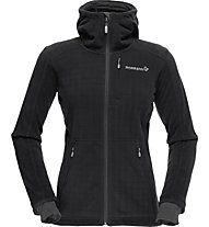Norrona /29 warm4 up cycled - Fleecejacke Wandern - Damen, Black