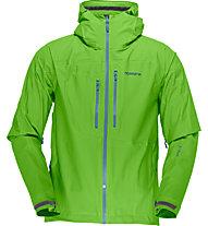 Norrona Bitithorn dri1 - Giacca Hardshell trekking - uomo, Green