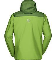 Norrona Bitihorn dri1 - giacca hardshell con cappuccio - uomo, Green