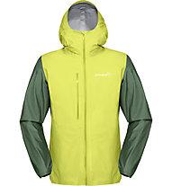 Norrona Bitihorn GORE-TEX Active 2.0 - giacca hardshell - uomo, Green/Yellow