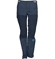 Norrona Bitihorn lightweight - pantaloni lunghi trekking - donna, Blue