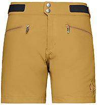 Norrona Bitihorn lightweight - pantaloni corti trekking - donna, Dark Yellow