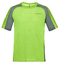 Norrona Bitihorn Wool - Kurzarmshirt Trekking - Herren, Green
