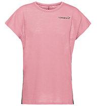 Norrona Bitihorn wool (W) - T-shirt - donna, Pink