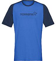 Norrona Equaliser Lightweight - T-shirt - uomo, Light Blue