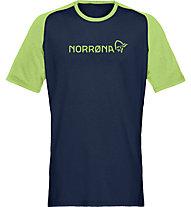 Norrona Equaliser Lightweight - T-shirt - uomo, Blue/Green