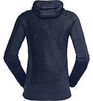 Norrona Falketind Alpha120 Zip Hood - giacca in pile - donna, Dark Blue