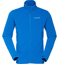 Norrona Falketind Warm1 - Fleecejacke Trekking - Herren, Light Blue