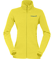 Norrona Falketind Warm1 Jk Damen Fleecejacke, Yellow