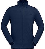 Norrona Falketind Warm1 Stretch - Herren- Fleecejacke, Blue