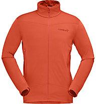 Norrona Falketind Warm1 Stretch - giacca in pile - uomo, Orange