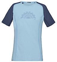 Norrona Fjørå equaliser lightweight - T-shirt - donna, Blue
