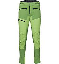 Norrona Fjørå Flex1 - pantaloni lunghi MTB - uomo, Green