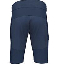 Norrona fjørå flex1 mid weight - pantaloncini ciclismo - uomo, Blue