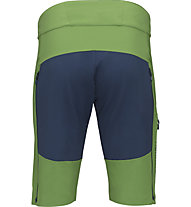 Norrona fjørå flex1 mid weight - pantaloncini ciclismo - uomo, Green