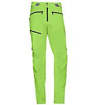 Norrona Fjørå flex - pantaloni trekking - uomo, Green