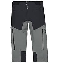 Norrona Fjørå flex1 - kurze Bergsporthose - Herren, Black/Grey