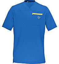 Norrona Fjora equaliser lightweight T-Shirt MTB, Electric Blue
