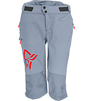 Norrona Fjora flex1 - pantaloni corti MTB - donna, Grey