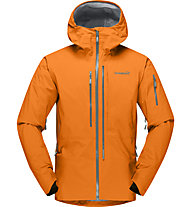 Norrona Lofoten Gore-Tex Pro - giacca freeride - uomo, Orange