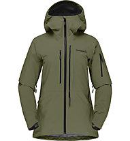 Norrona Lofoten Gore Tex Pro - giacca freeride - donna, Green