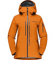 Norrona Lofoten Gore Tex Pro - giacca freeride - donna, Orange