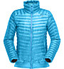 Norrona Lofoten Super Lw Down - giacca in piuma alpinismo - donna, Light Blue