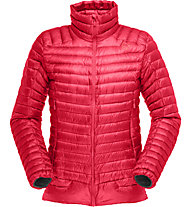 Norrona Lofoten Super LW - Daunenjacke Skitouring - Damen, Red