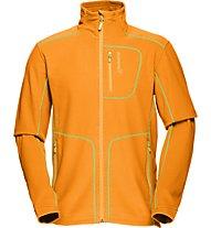 Norrona Lofoten warm1 giacca pile, Orange