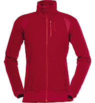 Norrona Lofoten Warm 1 - Fleecejacke Skitouren - Damen, Red