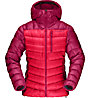 Norrona Lyngen Down 850 - giacca in piuma - donna, Pink/Red