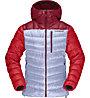 Norrona Lyngen Down850 Hood - Daunenjacke - Damen, Grey/Red