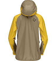 Norrona Lyngen GORE-TEX - giacca hardshell con cappuccio - donna, Brown/Yellow