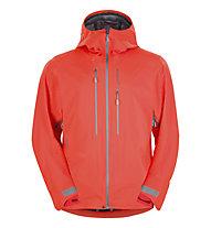 Norrona Lyngen hybrid Jacket Giacca Scialpinismo Hardshell, Hot Chilli