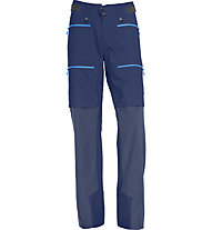 Norrona Lyngen hybrid - Pantaloni lunghi scialpinismo - uomo, Blue