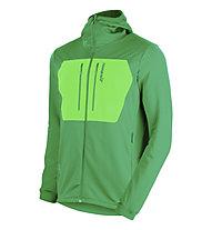 Norrona Lyngen Powerstrech Pro Hoodie, Chrome Green