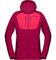 Norrona Lyngen Powerstretch Pro - giacca in pile - donna, Dark Pink