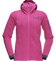 Norrona Lyngen warm2flex - Softshelljacke mit Kapuze - Damen, Pink